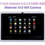 "Elsse 7"" Tablet PC Android 4.0 A13 Processor Review"
